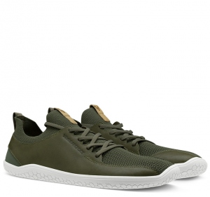 PRIMUS KNIT L Olive Green Leather