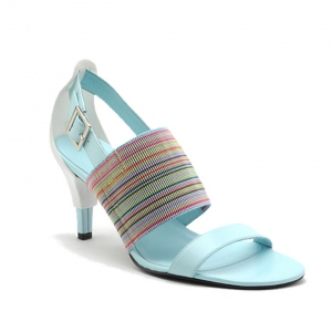 UNITED NUDE Cup Buckle Sandal Mid Cotton Candy