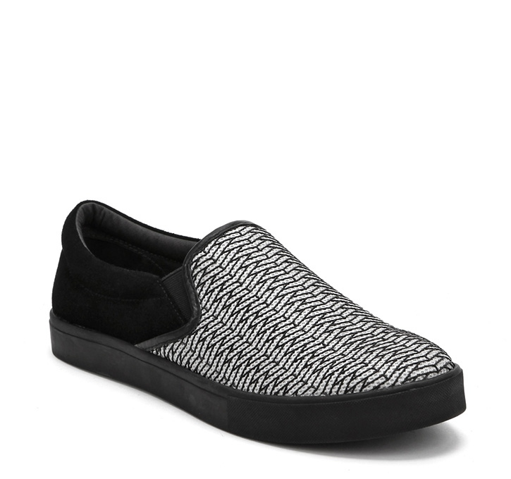 Slip On Mens Black on Pistachio Riz