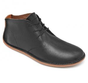 PORTO ROCKER HIGH Mens Leather Black