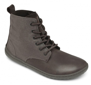 SCOTT Mens Leather Dk Brown