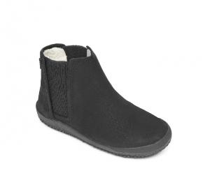 NEPAL Kids Leather Black
