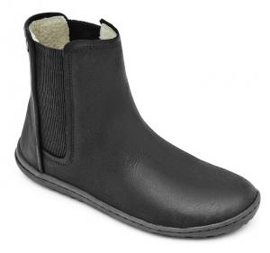 NEPAL Ladies Leather Black