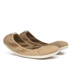 JING JING Ladies ECO SUEDE Tan