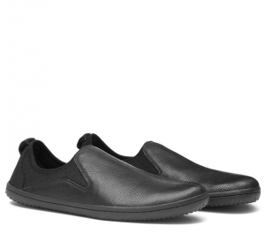 SLYDE Mens Leather Black