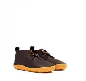 GOBI Kids Leather Dk Brown