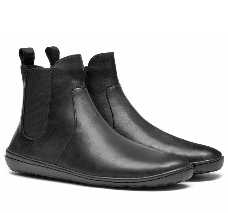 FULHAM Mens Leather Black