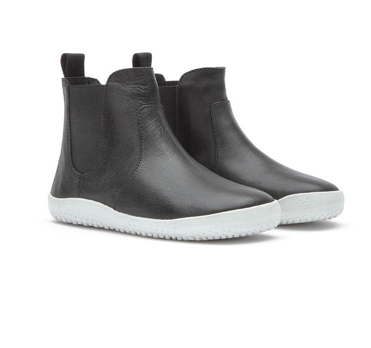 FULHAM Kids Leather Black