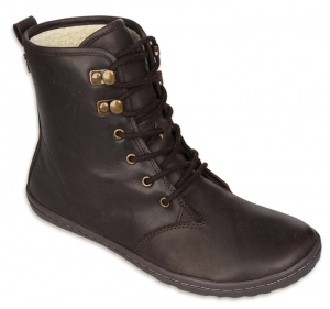 GOBI HI TOP Ladies Dk Brown/Hide
