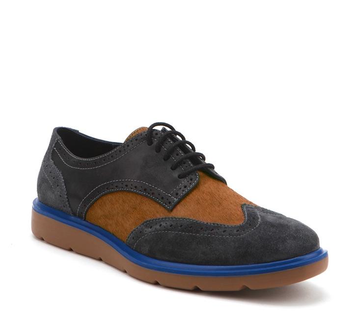 Flex Wingtip Dark Grey+ Black+Brown+Blue