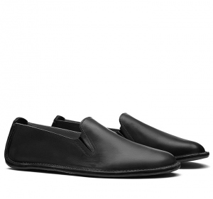 PORTO ROCKER SLIP ON Mens Leather Black