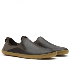 SLYDE Mens Leather Brown