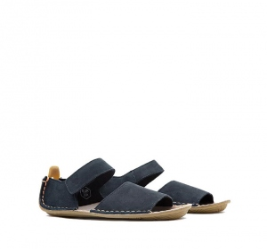 ABABA KIDS SANDAL Leather Navy