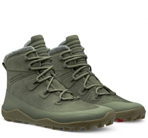 TRACKER SNOW SG Mens Dusty Olive Green Leather