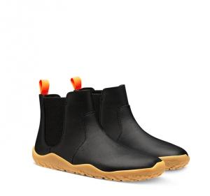 FULHAM KIDS Black Leather