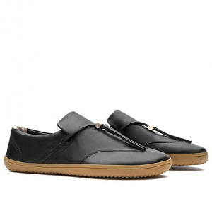RA SLIP ON L Black Leather