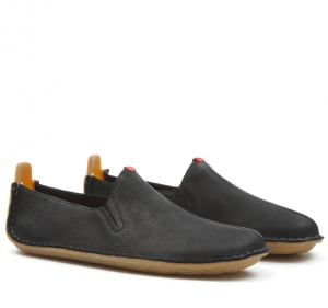 ABABA L Leather Black